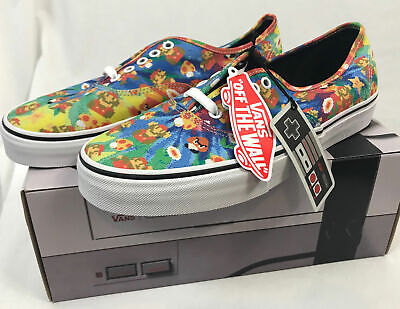 5dcf6384ea VANS x NINTENDO Authentic Mens sz 6 Shoes NEW Super Mario Bros 8Bit Free  Ship