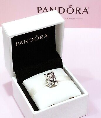 NEW Authentic PANDORA 925 ale Silver Lucky Elephant Charm Pendant 791902