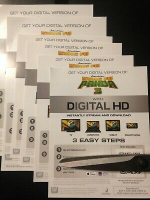 Kung Fu Panda 3 (HD Digital Code Only) Canada redemption only!