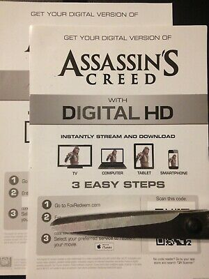 Assassin's Creed (HD Digital Code Only) Canada redemption only