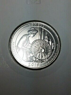 "2019 D Lowell National Park Quarter Massachusetts ""Brilliant Uncirculated"" ATB"