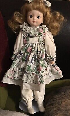 Beautiful porcelain doll- 16 inches tall