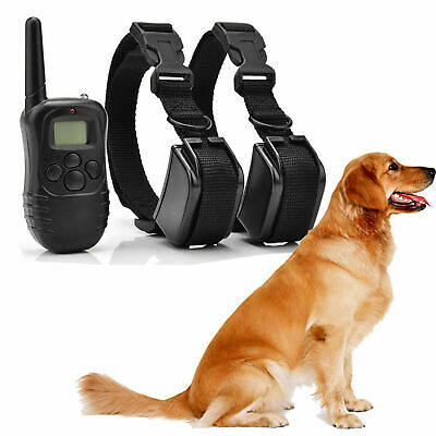 Dog Shock Training 2 E Collar With Remote Coach Electric Trainer Small Large Big