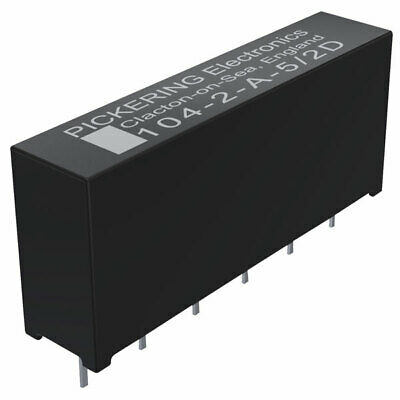 Pickering High Voltage 1.5kV Stand-off 2 Form A SPST 5 Volt coil Reed Relay