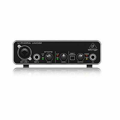 Behringer UMC22 Computer Audio Interface
