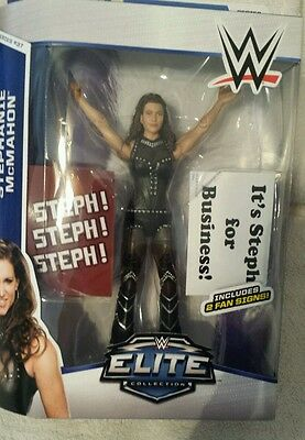WWE STEPHANIE MCMAHON  Highly Detailed Action Figure  6 inches