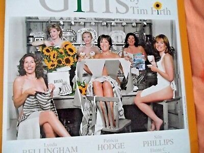 Calendar Girls - At Noel Coward Theatre London - 2009 - Double Sided,glossy.