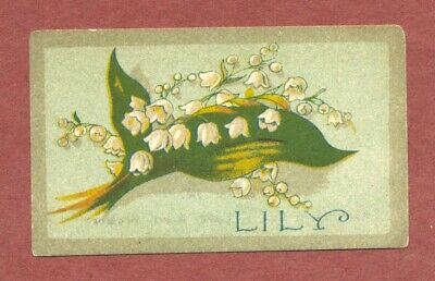 Wood Green  London, St John's Mission Church Ticket  Lily-of-the-Valley    QT292