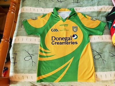 574d5e5c0 Donegal Gaelic Football Home Jersey 2010 to 2011 Medium Adult GAA CLG  Ireland