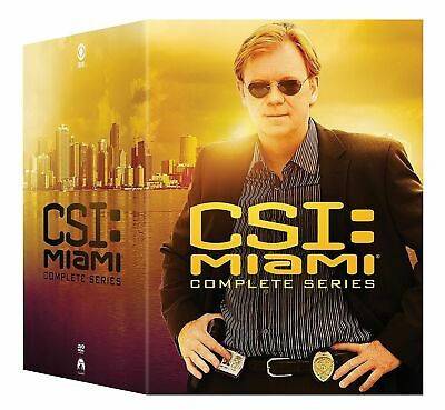 CSI MIAMI THE COMPLETE TV SERIES New 65 DVD Set Seasons 1 - 10 FREE SHIPPING
