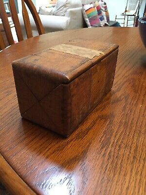 Vintage Antique SINGER 1889 sewing machine replacement parts and puzzle box COOL