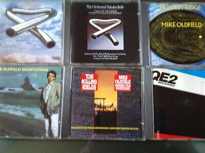 Mike Oldfield Lote Pack Retro Cd Coleccionistas 15 Discos