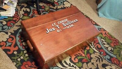 Antique US Navy Sea Chest or Foot Locker