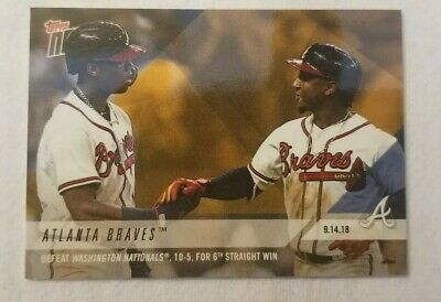 Ronald Acuna/Ozzie Albies 2018 Topps Now BRAVES Players Weekend BONUS #PWB-64