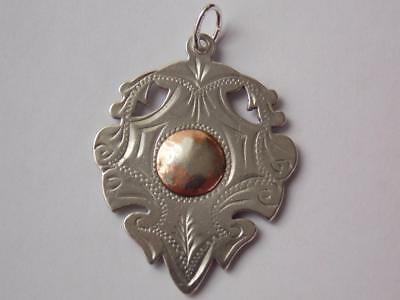 Vintage 925 Sterling Silver Watch Fob