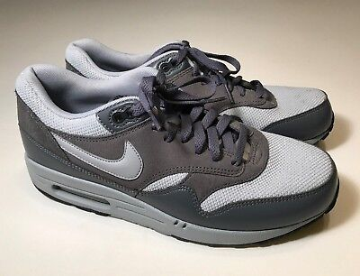 online store b010b 0c5ef NIKE AIR MAX 1 Essential (537383-019) Wolf Gray Athletic Shoes Men 10, EUC  -  49.99   PicClick