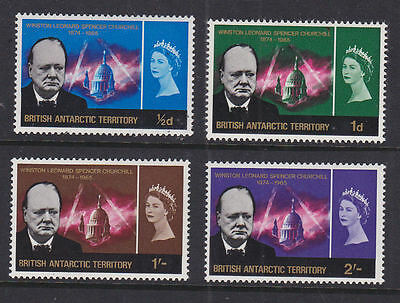 British Antarctic Territory 1966 Mint MLH Full Set Winston Spencer Churchill