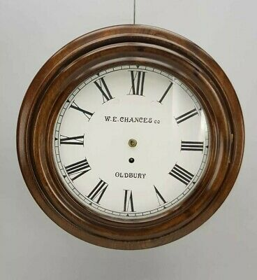 Antique Single Fusee Wall Clock For Restoration/ Project