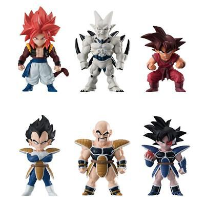BANDAI Dragon Ball Z ADVERGE 8 Figure Full All 6 sets JAPAN OFFICIAL IMPORT