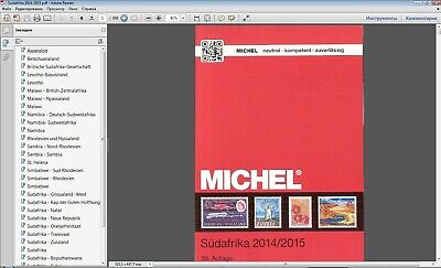 Michel South Africa stamps catalog 2015 in PDF