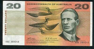 $20 Phillips Randall First signature XBS 399245 VF