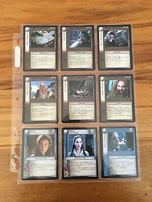 Lord of the Rings: Realms of the Elf-lords Trading Cards Complete Set  (122)