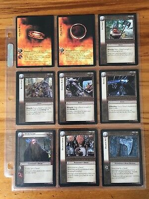 Lord of the Rings: Fellowship of the Ring Trading Cards Complete Set (365 cards)