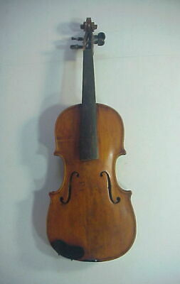 Antique 19th CENTURY VIOLIN with TIGER MAPLE BACK