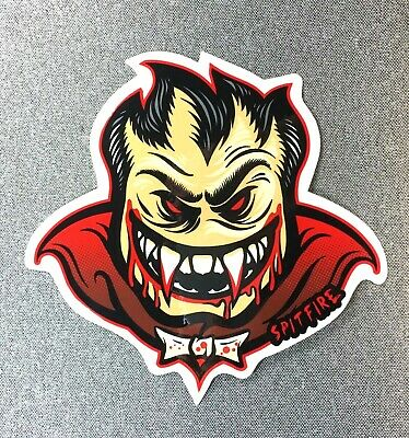 Spitfire Bighead Solid Color Skateboard Patch 3in Iron on Patch red si