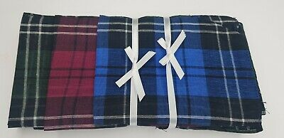 24x Men's HANDKERCHIEFS 100%Pure Wedding Cotton Pocket Square Handkerchief  Bulk