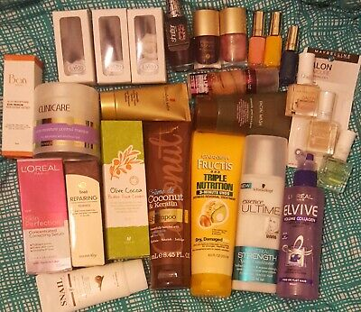 OVER 200 ITEMS! CREATE YOUR BARGAIN!! BULK MAKEUP SKIN & HAIR CARE WORTH $1000s
