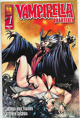 Vampirella Quarterly #1 Spring 2007 Stephen Segovia Cover NM-