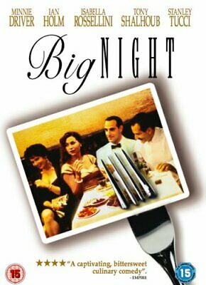 Big Night [DVD] [1996] - DVD  5UVG The Cheap Fast Free Post