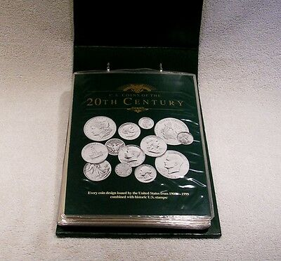 U.S. 20th Twentieth Century Coins - Coin & Stamp Commemorative Collection