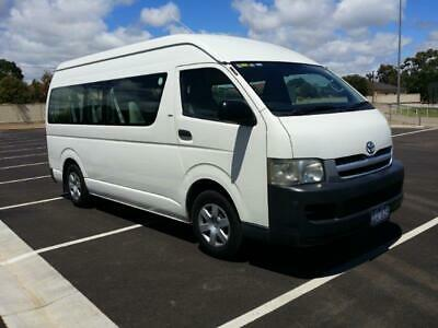 2006 Toyota Hiace Commuter SLWB Wheelchair Accessable MANUAL Immaculate Low Km