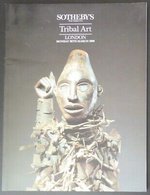 Auction Catalogue Sotheby's London Tribal Art March 26, 1990 African Oceanic