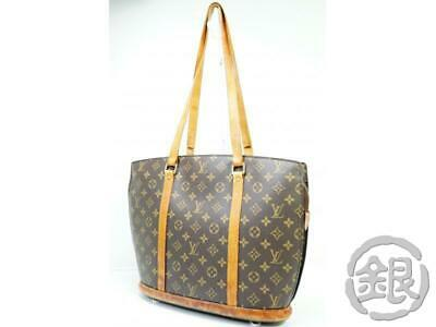 1b34c6d874fc AUTH PRE-OWNED LOUIS VUITTON LV MONOGRAM BABYLONE TOTE BAG M51102 190166