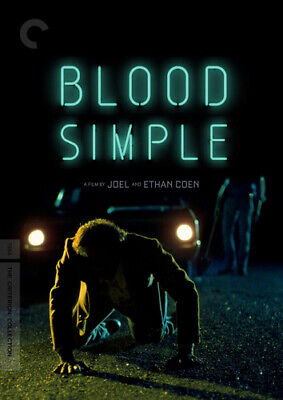 Blood Simple (The Criterion Collection, 2 Disc, Mastered in 4K) DVD NEW