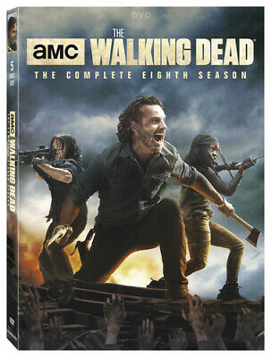The Walking Dead: The Complete Eighth Season (Season 8) (5 Disc) DVD NEW