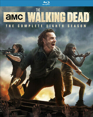 The Walking Dead: The Complete Eighth Season (Season 8) (5 Disc) BLU-RAY NEW