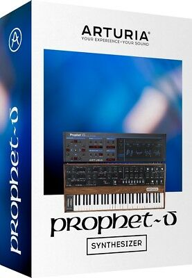 1/2 price! Arturia Prophet-V soft-synth plug-in instrument Sequential Circuits