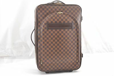 6d822894445f Authentic Louis Vuitton Damier Pegase 55 Travel Carry bag N23294 LV 57717