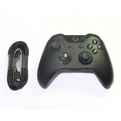 Xbox One Wired Gamepad Controller with 3MTR USB Cable - Black