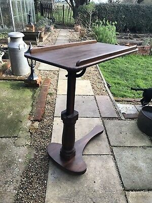 A Lovely Victorian Over Bed Table