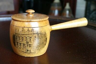 Mauchline Ware Small Cooking Pot