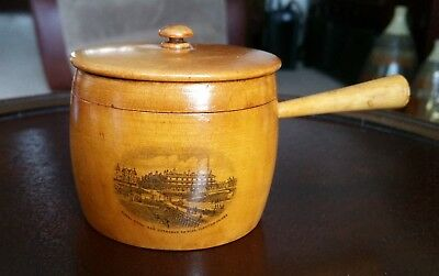 Mauchline Ware Large Cooking Pot