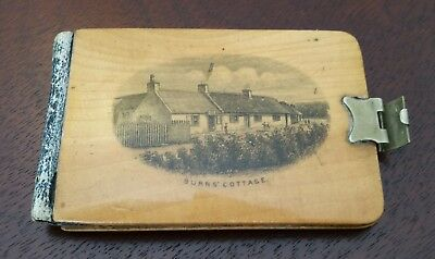 Mauchline Ware Note Book