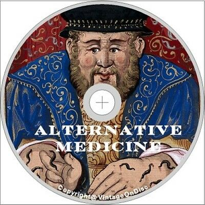 Ancient Alternative Medicine 260 Rare Vintage Books  on Dvd Rom