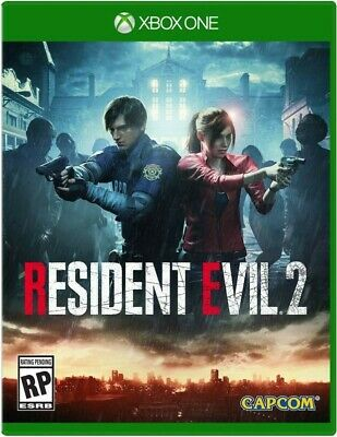 Resident Evil 2 Remake Xbox (No Code, No Disc) Leer Dentro / Read Inside