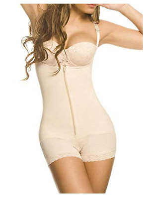 YIANNA Mujer Body Reductor Busto Abierto Corsé sin Costuras Faja Reductora. Sx